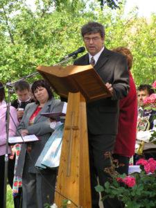 Projev pana starosty Zdeňka Gottwalda