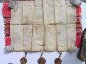 Nejstarší historická listina