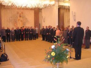 Projev předsedy Parlamentu ČR pana Lubomíra Zaorálka ke schromážděným starostům