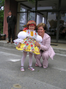 Teta Helena s Terezkou